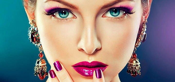 Будь королевой праздника! Профессиональный вечерний, праздничный или свадебный макияж в Салоне красоты «Кураж»!