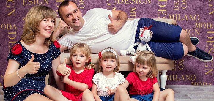 Фотопроект «Семейный уют» в профессиональной фотостудии «TJ»