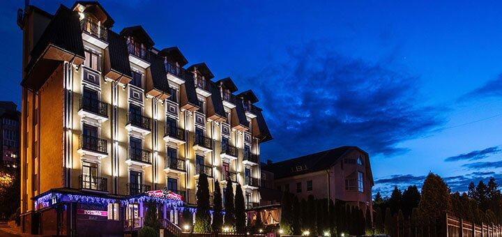 От 3 дней SPA-отдыха с полным пансиономи оздоровлением в отеле «Золотая Корона» в Трускавце