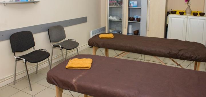 SPA-программа «Буревестник» в кабинете массажных SPA-процедур
