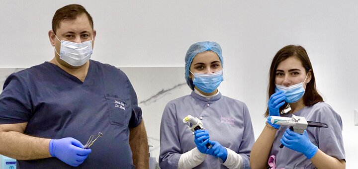 Ультразвуковая чистка зубов, Air-Flow и полировка в стоматологической клинике «Diva Dent»