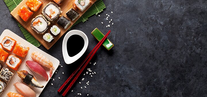 Суши-бар Beer & Sushi / Скидка 50% на все суши в суши-баре «Beer & Sushi»