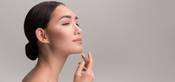 До 3 сеансов механической чистки лица с ультразвуком и пилингом от косметолога Былым Марины