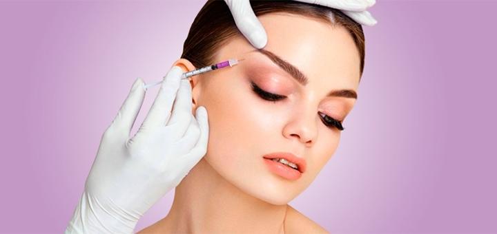 Скидка до 48% на блокирование морщин в области глаз, лба или межбровья в центре «Шанти»