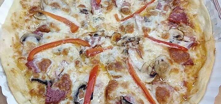 Скидка 50% на всё меню пиццы от сети ресторанов «Burger Club»