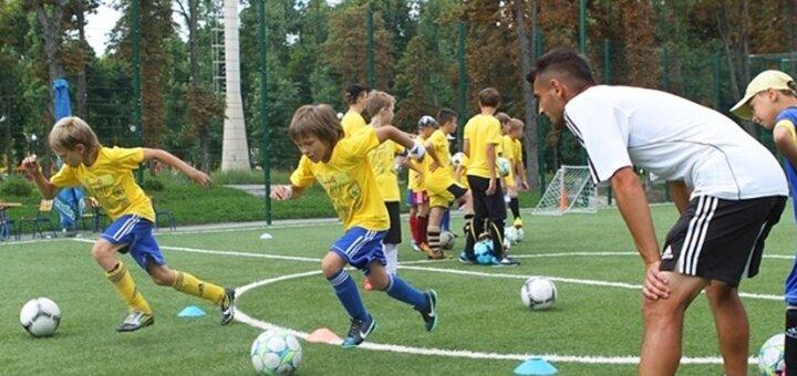 До 12 тренировок по футболу для детей в футбольном клубе «Салют»