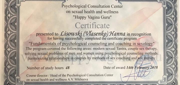 Онлайн-консультация для родителей по половому воспитанию ребенка от психолога Анны Лисовски