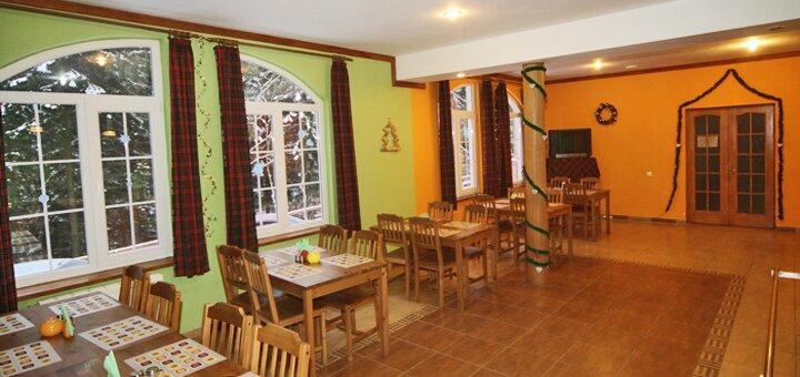 От 3 дней отдыха летом и вначале осени с питанием в отеле «Дзвінка» в Славском
