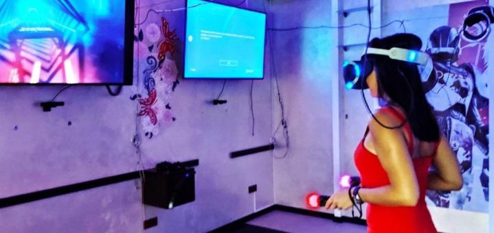 До 2 часов игры на рlaystation или VR в игровом пространстве «Реальность»