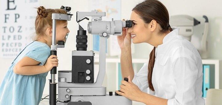 Комплексное обследование детского врача-офтальмолога в клинике «Центр Зору»