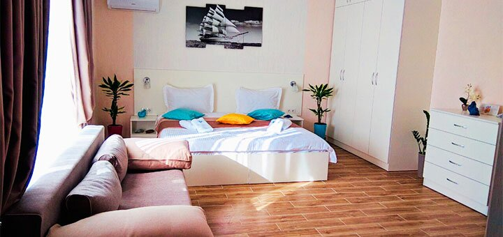 От 3 дней отдыха в апреле и мае в апарт-отеле «Посейдон» на окраине Одессы
