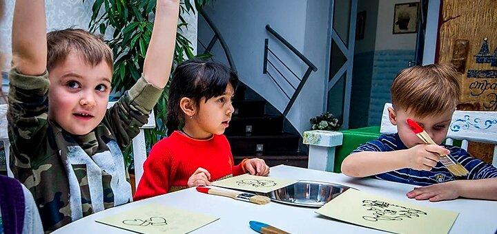 До 6 занятий по рисованию цветным песком в творческой мастерской «Песочный остров»