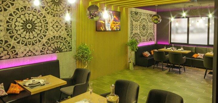 Скидка 30% на меню кухни в ресторане «Сансара»