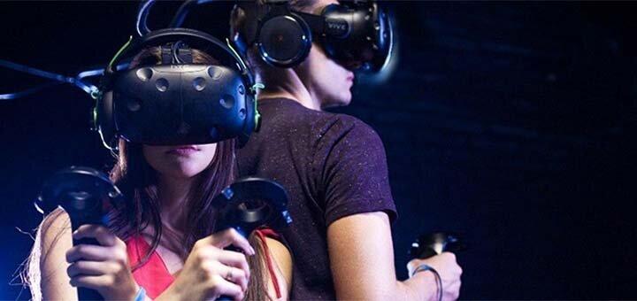 Безлимитная игра в клубе виртуальной реальности для компании от клуба «ViRoom»