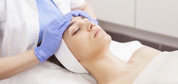 Ультразвуковая, механическая или комбинированная чистка лица с маской на выбор в салоне «Vual' cosmetology»