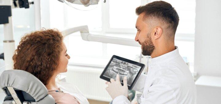 Панорамный 2D-снимок челюстей (ОПТГ) в медицинском центре «Доктор Зуб»
