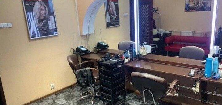 Окрашивание и восстанавливающая маска для волос, стрижка, укладка в салоне «Bagira»