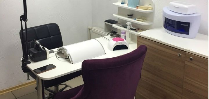 Маникюр и педикюр с покрытием гель-лаком от мастера маникюра в салоне «Артемида»