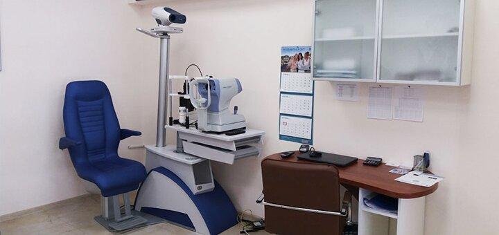 Обследование у офтальмолога и подбор контактных линз в сети салонов «Дом оптики»
