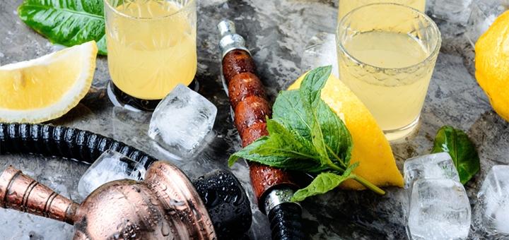 Фирменный кальян с чаем или лимонадом в лаунже «Шопаук»
