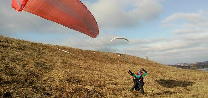 Скидка 50% на высотный полет в тандеме с инструктором от летной школы «Харьков Sky»