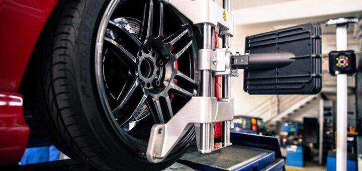 Развал-схождение колес для любого авто на СТО «S-Class»