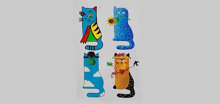 Онлайн мастер-класс «Знакомство с Пикассо, Ван Гогом, Магрит и Фридой Кало» от «Tree Art»
