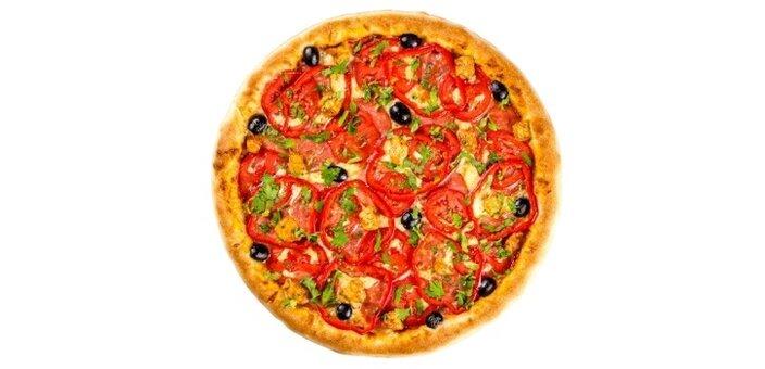 Скидка 40% на все меню салатов и 30% на меню пиццы от службы доставки «Napolipizza»