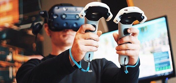 Скидка 50% на игры в клубе виртуальной реальности «VR Play»