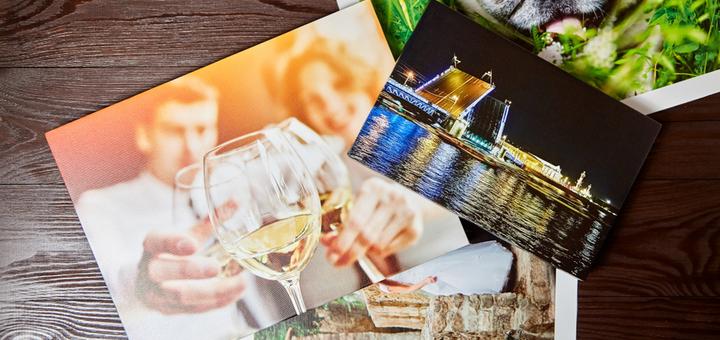 Печать изображений на холсте любого формата от фотостудии «Focus Photo»