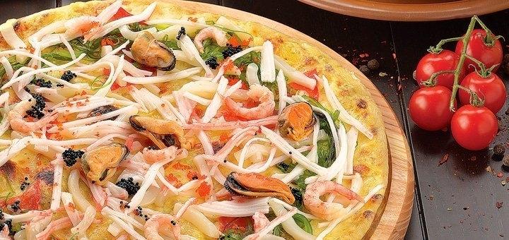 Скидка 50% на всё меню кухни, суши, пиццу с доставкой или самовывозом от «Портофино»