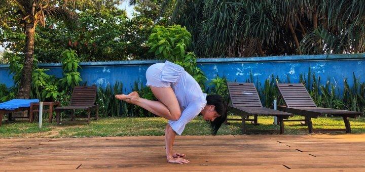 Онлайн-курс йоги для начинающих от преподавателя йоги и медитации Марты Чорной