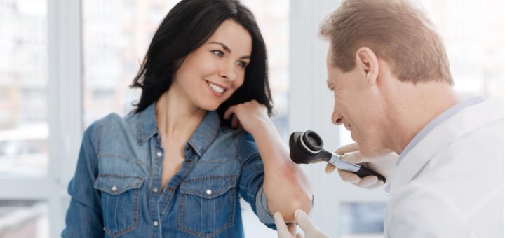 Дерматоскопия и удаление кожных новообразваний в клинике «МЕДПРОФ»