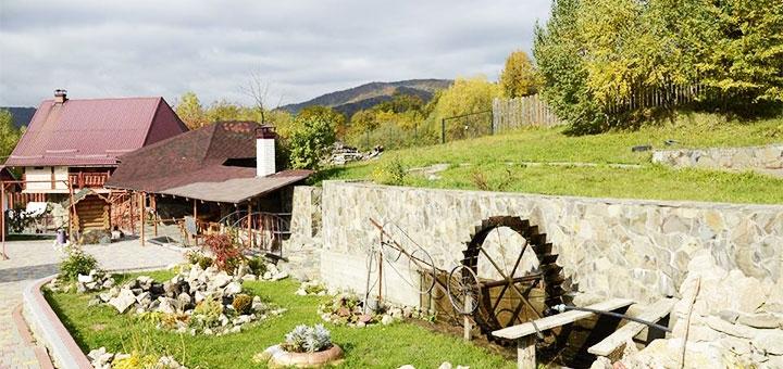 От 3 дней отдыха в мае и летом в усадьбе «Біля струмка» в Закарпатье