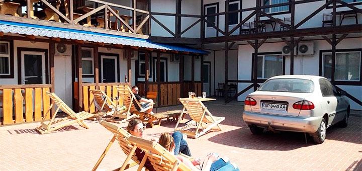 От 4 дней отдыха в мае, июне и сентябре на базе отдыха «Техас» в Кирилловке