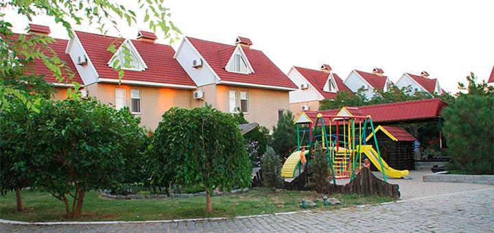 От 4 дней отдыха в сентябре с трехразовым питанием в комплексе «Камелот» в Бердянске