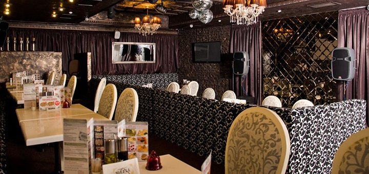 Скидка 50% на меню кухни и вход в караоке в ресторане «Mafia»