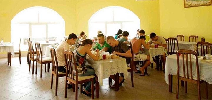 От 3 дней отдыха в сентябре в пансионате «Сан Сити» в Бердянске