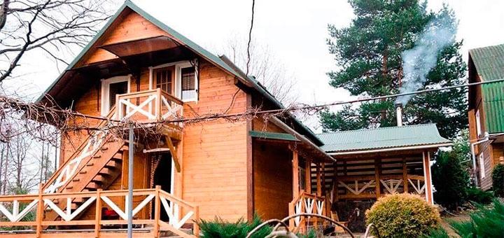 От 6 дней отдыха с рыболовлей в отеле «Сосновый двор» в Чергановке в Карпатах
