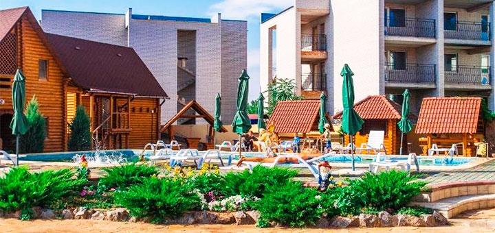 От 3 дней отдыха в сентябре в отеле с бассейном «Европейский» в Кирилловке