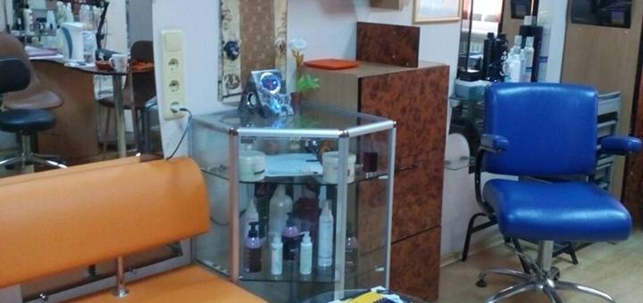 Разработка имиджа, стрижка, укладка, реконструкция и окрашивание волос в кабинете «50/50»