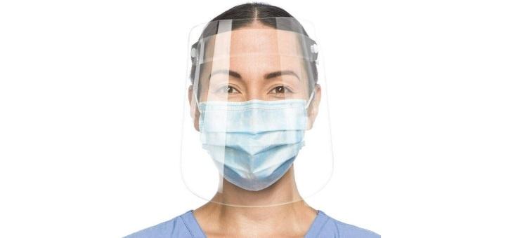 До 20 защитных масок-щитков от интернет-магазина «Vesna»