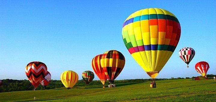 Скидка 20% на полет на воздушном шаре от Киевского воздухоплавательного общества