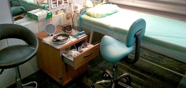 Перманентный макияж «Пудровые брови» с коррекцией в кабинете Дмитрия Жукова
