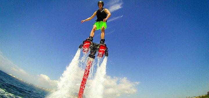 """Полет на флайборде или хаверборде с инструктажем + съемка полета на камеру """"GoPro"""" от компании «FlyBoard-Kiev»!"""