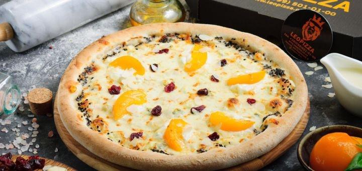 Скидка до 50% на суши-сеты и пиццу от службы доставки «LeoPizza»