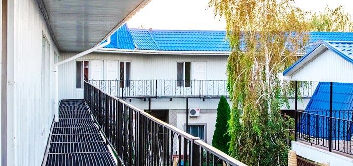 От 4 дней отдыха в сентябре в пансионате «Источник здоровья» в Генгорке на Арабатской Cтрелке