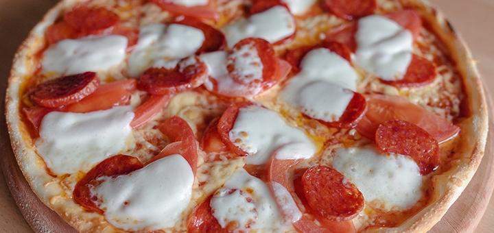 Скидка 35% на все меню кухни от пиццерии с летней террасой «Pizza&Pasta TRATTORIA»