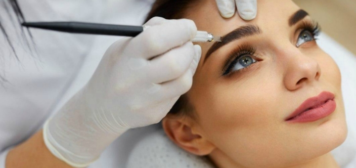 Микроблейдинг и «пудровые брови» с коррекцией от beautyroom «Vse gladko»