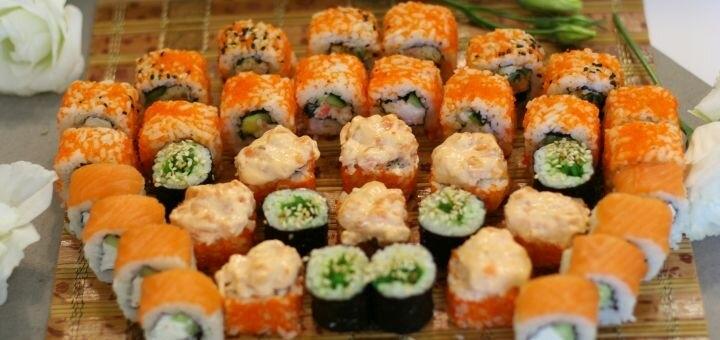 Скидка 52% на суши-сет «Яманаси» от магазина-ресторана японской кухни «Суши WOK»